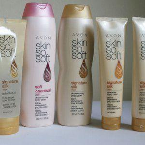 Avon Argan Oil Collection Set Bundle